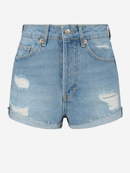 SHORTS WITH DESTROYED DETAILS