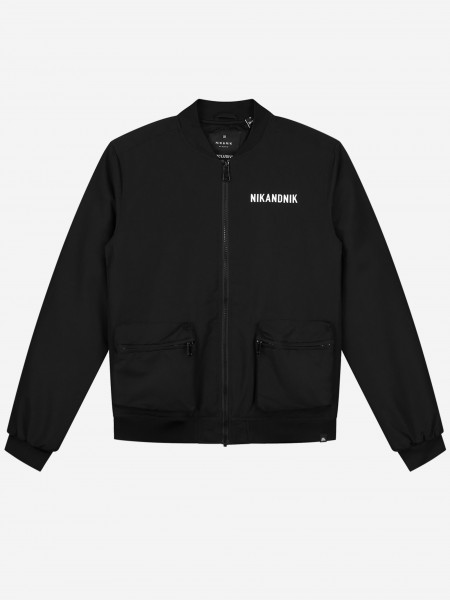 Bomber With Logo