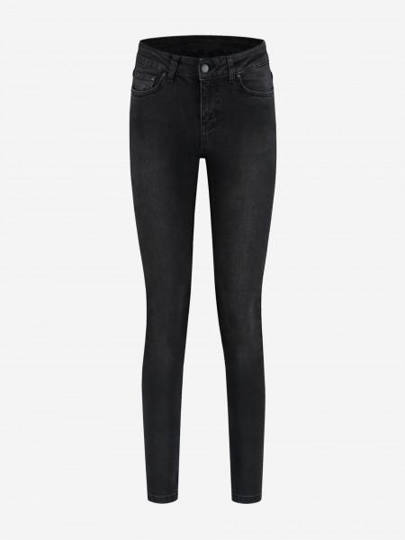 Mid rise 5-pocket jeans