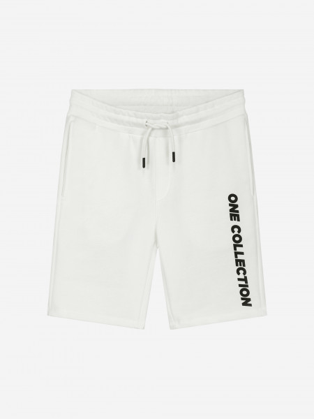 SWEATSHORTS WITH ONE COLLECTION LOGO