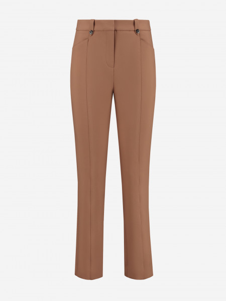 TROUSERS WITH STITCHED LINES