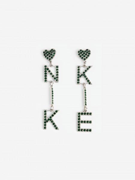 NIKKIE letter earrings