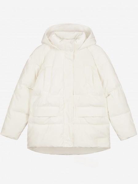 Vintage white winter jacket