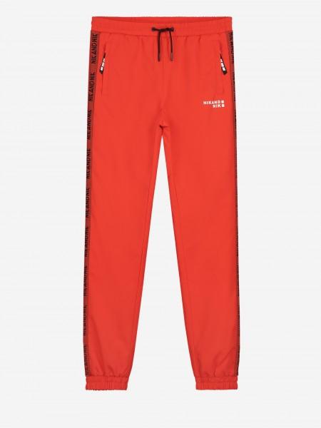 Pants with NIK&NIK logo trim