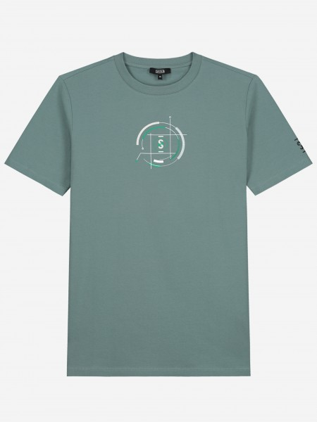 T-SHIRT WITH S ARTWORK