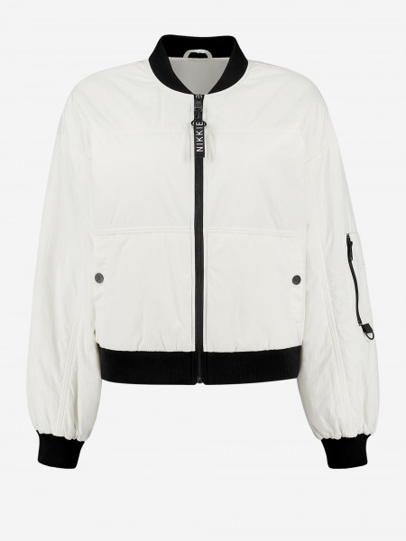 BOMBER WITH N LOGO