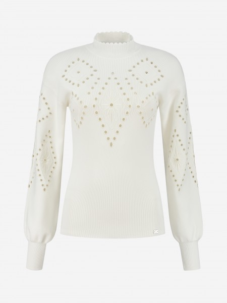 TOP WITH TRANSPARENT DETAILS