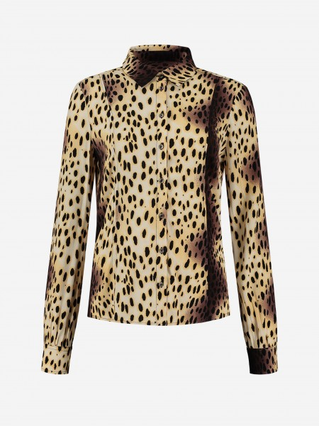 BLOUSE WITH CHEETAH PRINT