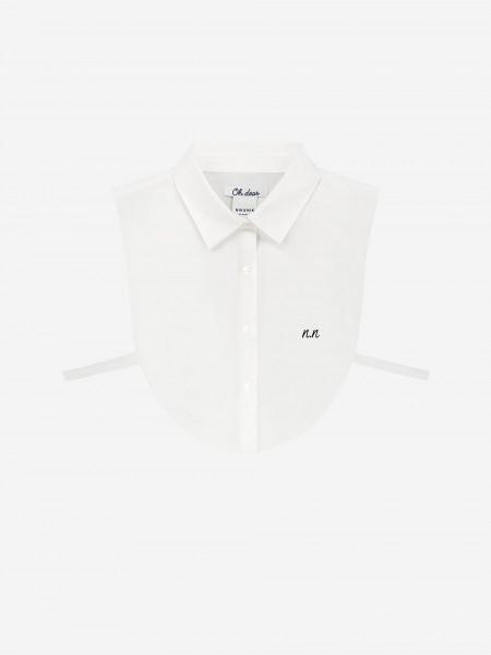 White shirt collar