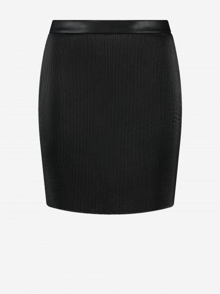 short ribbed skirt