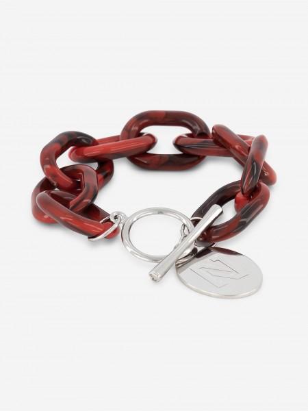 Red NIKKIE link bracelet