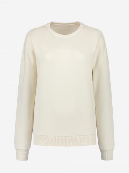 plain sweater with nikkie logo