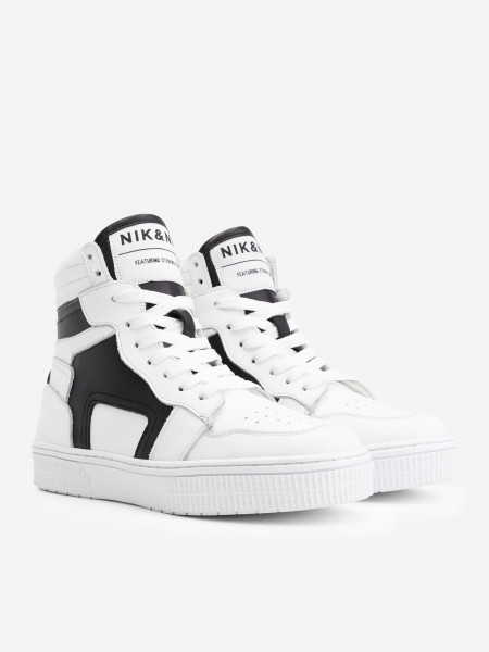 High Sneaker with Black