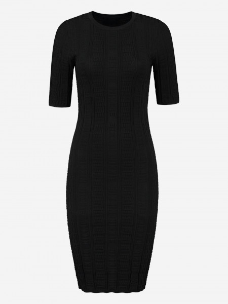 FITTED DRESS WITH PATTERN