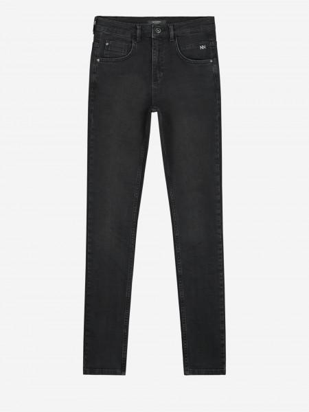 Dark grey denim pants