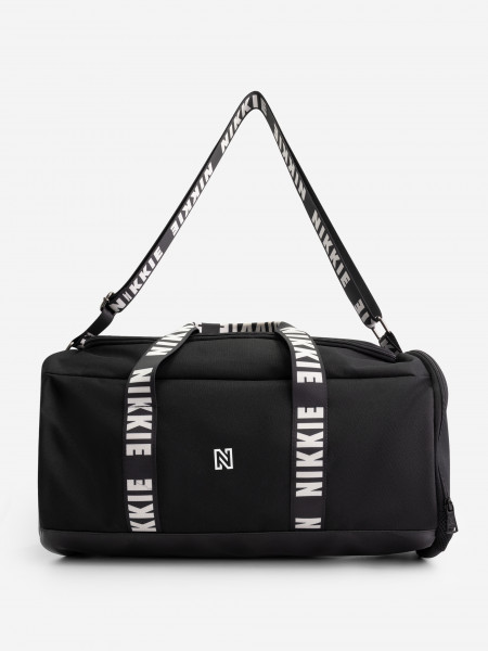 sport bag with logo tape