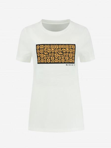 T-shirt with NIKKIE artwork