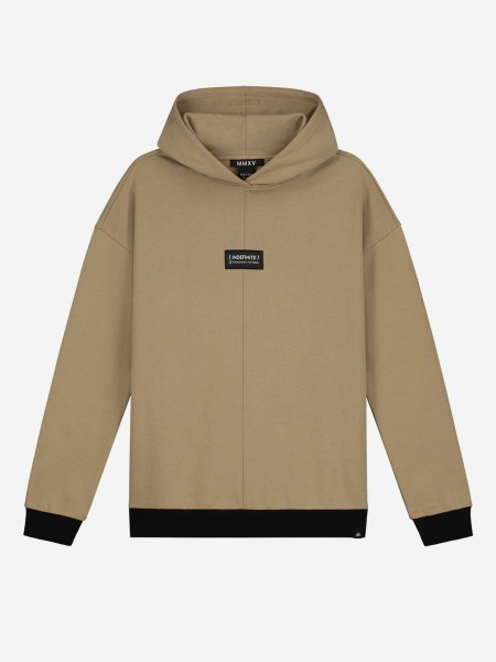 HOODIE WITH PATCH