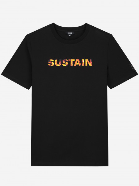 T-SHIRT WITH SUSTAIN LOGO