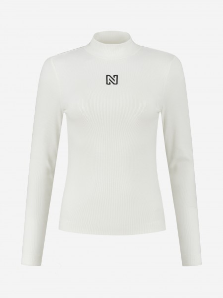 TURTLE NECK TOP WITH N LOGO