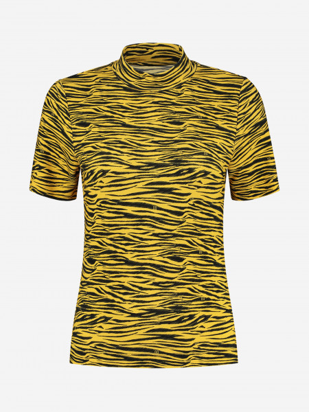 TOP WITH ALL-OVER TIGER PRINT