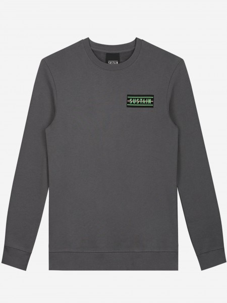 Loose fit sweater with artwork