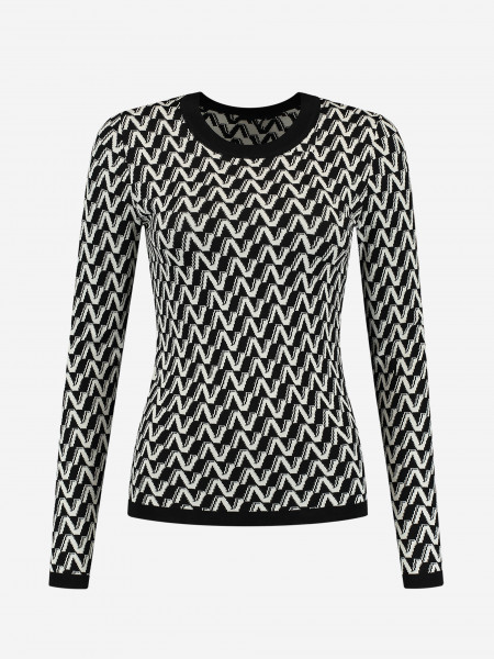 Top with all over N print