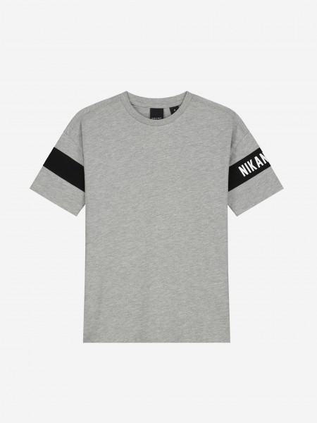 Logo T-Shirt With Stripes
