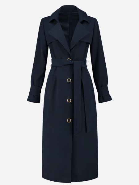 TRENCHCOAT WITH BUTTONS