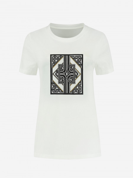 t-shirt with graphic artwork