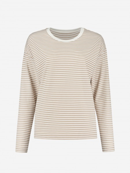 Loose top with breton stripe
