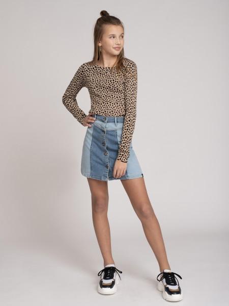 Clara Two Colour Skirt