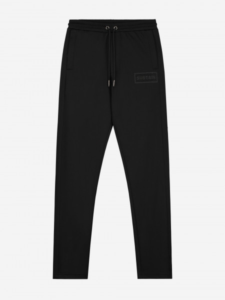 TRACK PANTS WITH LOGO PATCH